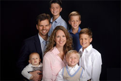 Dr. Aaron Kheriaty and his wife live with their five boys in San Juan Capistrano, California.