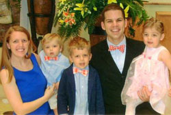 Brandon Vogt and his wife, Kathleen, have four children (one in the womb).