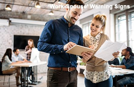 Work Spouse Warning Signs